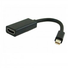 ADAPTOR MINI DISPLAY PORT  - HDMI FEMALE 15CM OEM