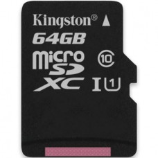 CARD MICROSDXC 64GB CL10 UHS-1